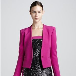 Rachel Roy Begonia Cropped Jacket pink